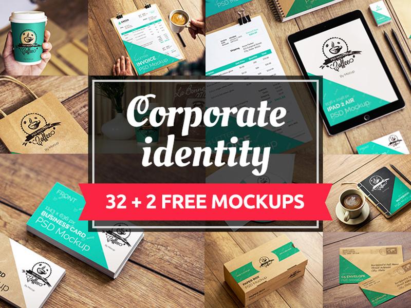 00b7103354f1f86abccb68f3632eba38 - 32+2 Free Corporate Identity Mockups