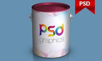 013bc0f0d852733d2494a7d792970829 400x240 - Paint Bucket Mockup Free PSD