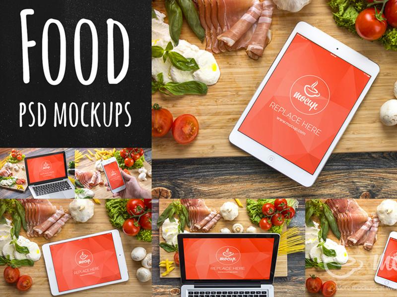 01607f80cde912aa60b158886461abac - 12+2 Bonus PSD Mockups Food