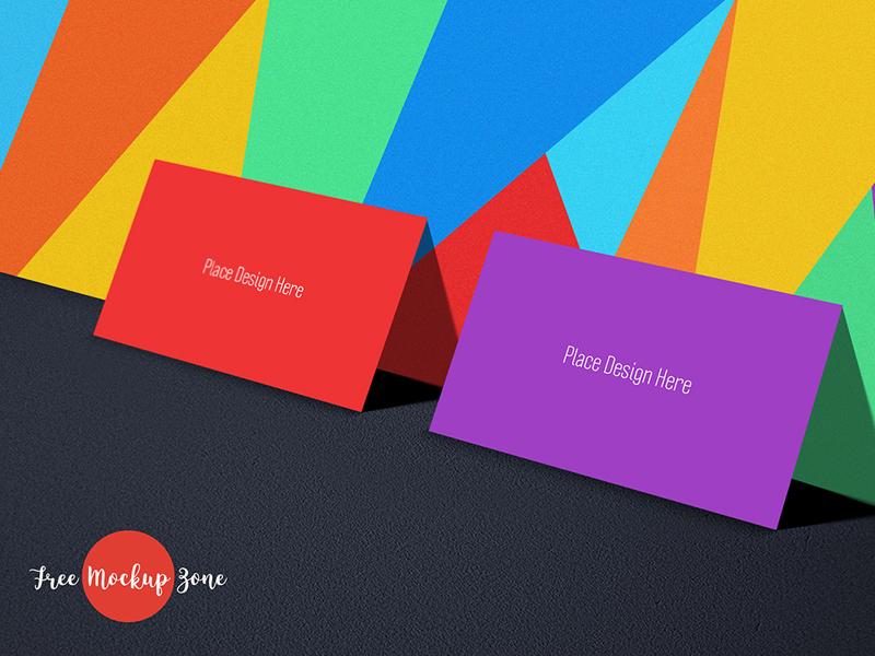 0572d2213b33b7658c9435a15affc1a4 - Free Tutti Frutti Business Card Mockup