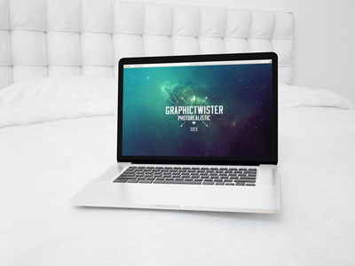 05a794c0b54e275bf1bceb548e7f64f5 - MacBook Pro On The Bed