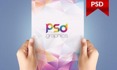 0600c95e769cf47d1bf5e8957fd2d9f6 400x240 - A4 Paper In Hand Mockup Free PSD