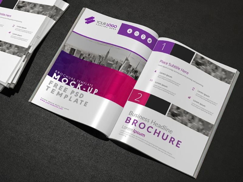 070de73212dd835e4ef0c96f82def782 - Brochure mock up design Free Psd