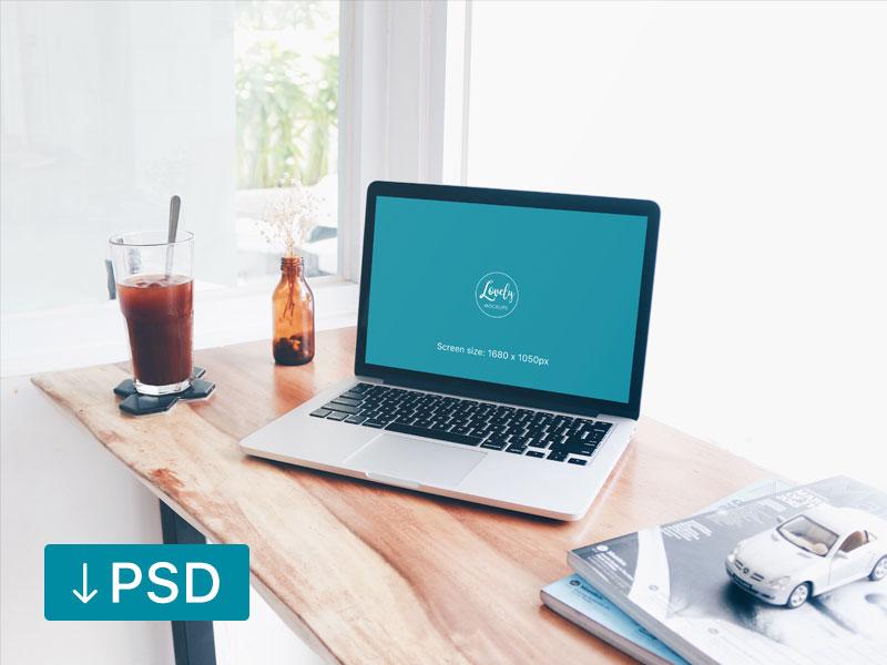 0782adad00f683aa9cdd479e3ef3d44b - Macbook Pro At The Window (FREEBIE)