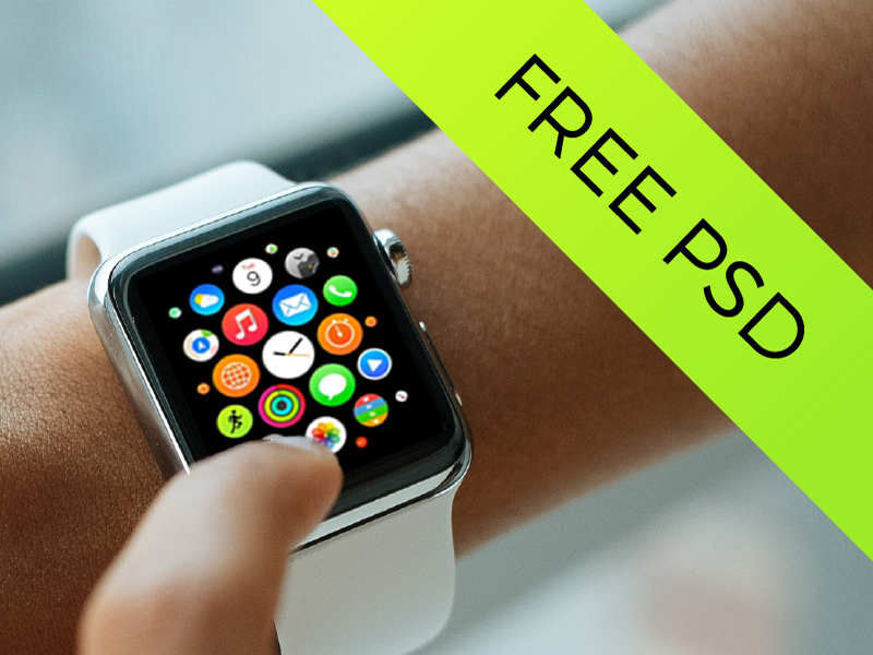 07f8d604ca87c51932843decf199a15f - 5 Apple Watch Mockups | Freebie