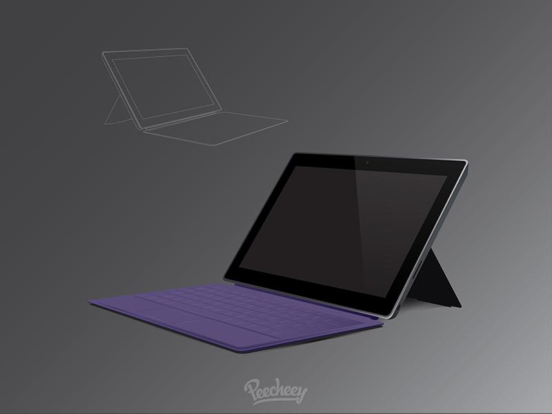093aae8ea8375dcb6397dc6f02c7a964 - Surface Pro mockup