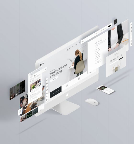 09bbfc42391267.57ccf89192017 560x600 - The Screens - Free Perspective PSD Mockup Template
