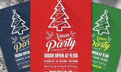 0c333b2ea54c37d10b63e75829617a63 400x240 - Free A4 Christmas Party Flyer Design Template & Mock-up PSD
