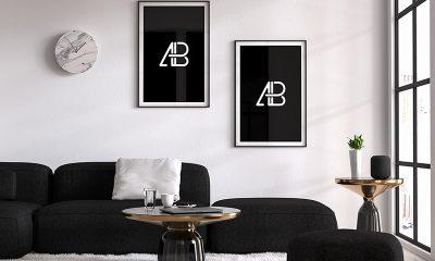 0d224901c66cc175cdd2d55e84373bb5 400x240 - Modern Double Poster Mockup