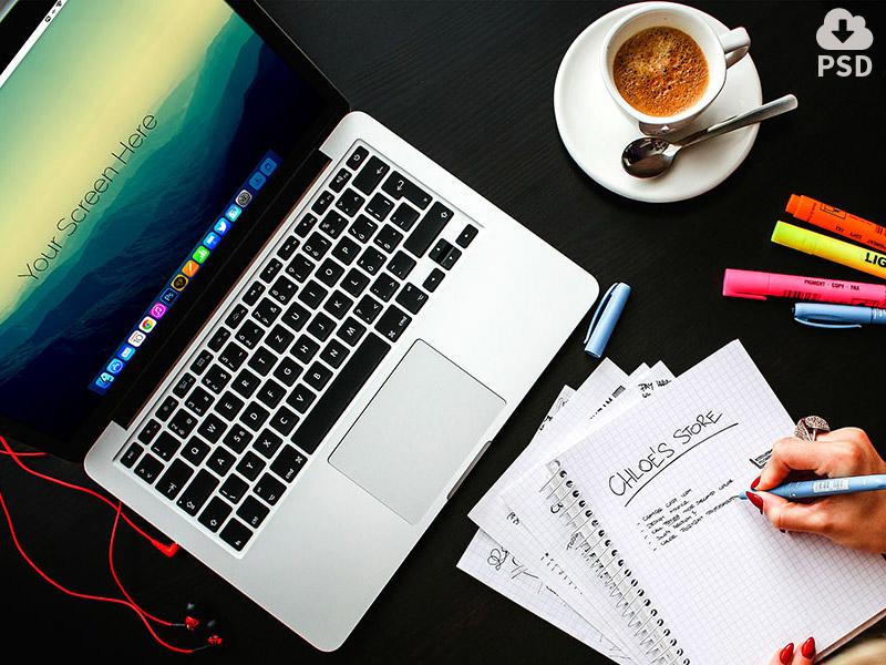 0dfb358491642a3237b568e8f54fe20a - Free Macbook pro office mockups