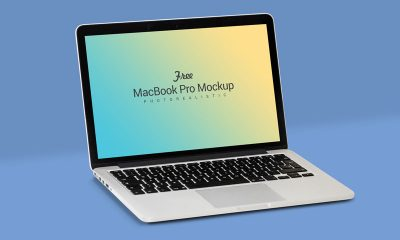 0e667b526e46b18cc969c6f71bf05f25 400x240 - Free Fully Customizable Apple Macbook Pro Mockup PSD