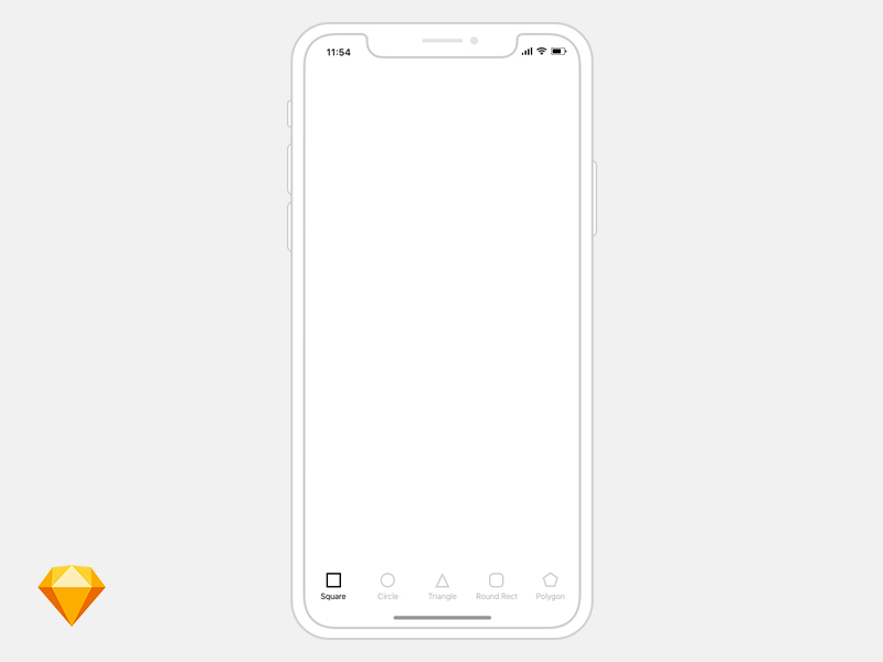 0fd9de73a8fb0ef1a34174d4be654a35 - Free iPhone X wireframe template