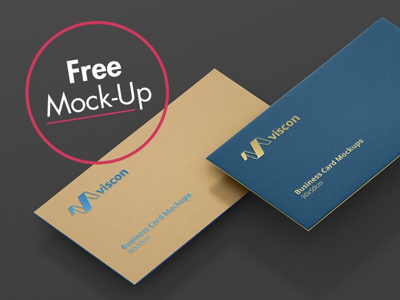 102fbadb7c17529ffbd1b7dd3ef6f131 - Free Business Card Mockup