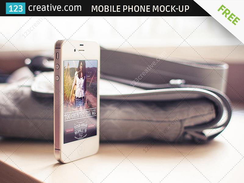102fdedf25668dea212c6bf25e583760 - Free Mobile Phone Mockup