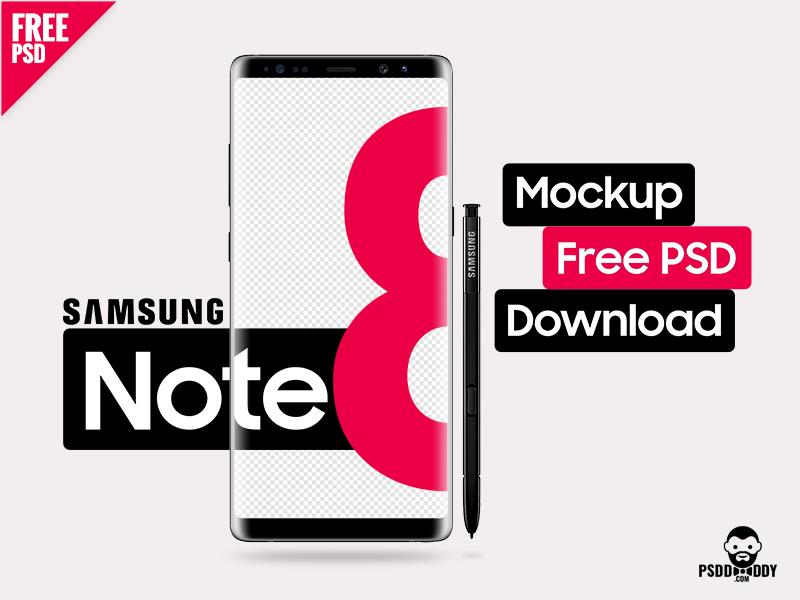 11eb160b93dd78b5cde87cc19ace855b - Free Samsung Galaxy Note 8 Mockup PSD