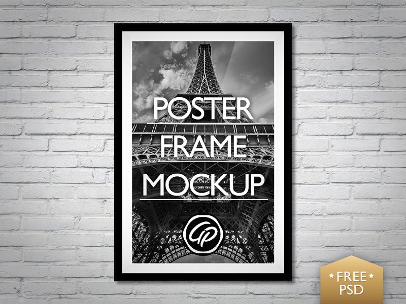 11fb69bdeaec2376972d57075e4c6c32 - Poster Frame Mockup PSD