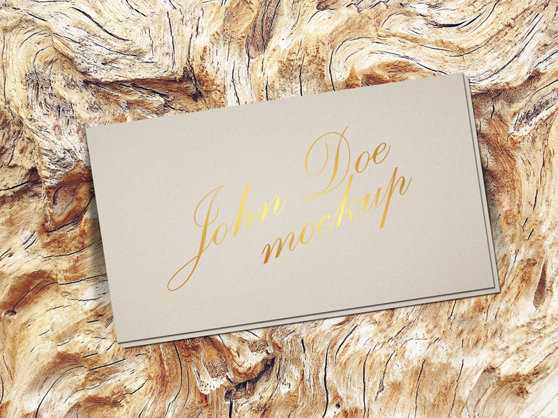 156a274c3bdbae69731e20e484114c56 - Free Gold Foil Business Card Mockup Psd