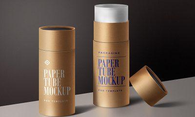1a35fd995707b51d2ca6d0817d366737 400x240 - Paper Tube Mockup PSD