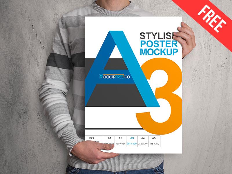 1c76136660307b22065f7cc32ca722a7 - Poster – Free PSD Mockup