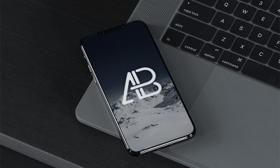 1f0dea6b57f9d2453fb40c8310399c69 400x240 - iPhone X On MacBook Pro Mockup
