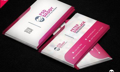 208e293e07a98a2e7f08c1184426dddc 400x240 - Classic Business Card Template Free PSD