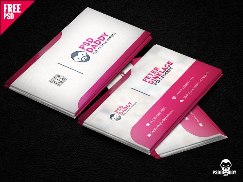 208e293e07a98a2e7f08c1184426dddc - Classic Business Card Template Free PSD