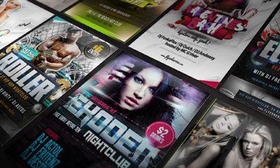 22db0e3397b63b8d2826a9bf17c5403e 400x240 - Flyer Poster Mockup Vol. 1 (Free PSD)