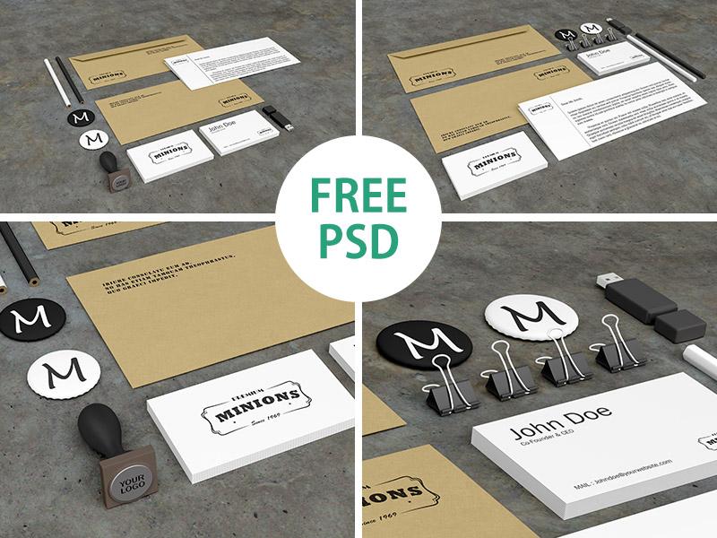 23a761a5ca09f233504cf64cd80ce44e - Stationery PSD Mockups (FREE PSD)