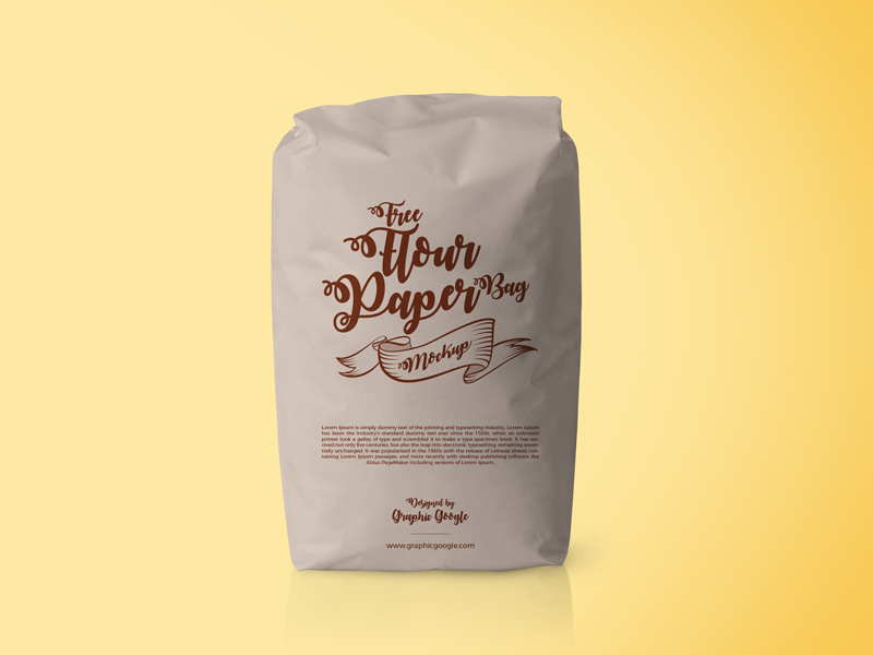 23e620b806e401b3480de61fe0a5f368 - Free Flour Paper Bag Psd Mockup