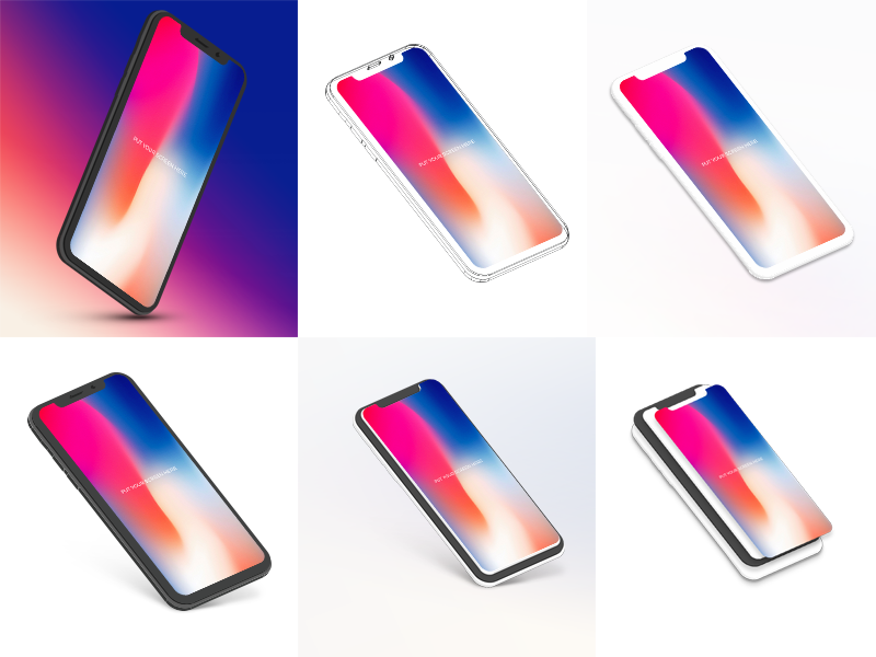 23ffad991591876aa7e7e0f42d2610d9 - Free iPhone X Mockup Bundle