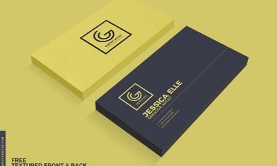 246337b6d752a71642aecc0da1681adb 400x240 - Free Textured Front & Back Business Card Psd Mockup