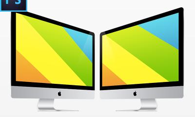 257c02d2ac3db0d86ff538be2322a036 400x240 - New iMac FREE PSD Vector Template