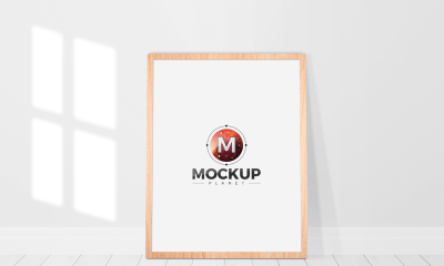 27c7deb82345b1b259147fa473fce70d 400x240 - Free Wooden Standing Frame Poster Mockup