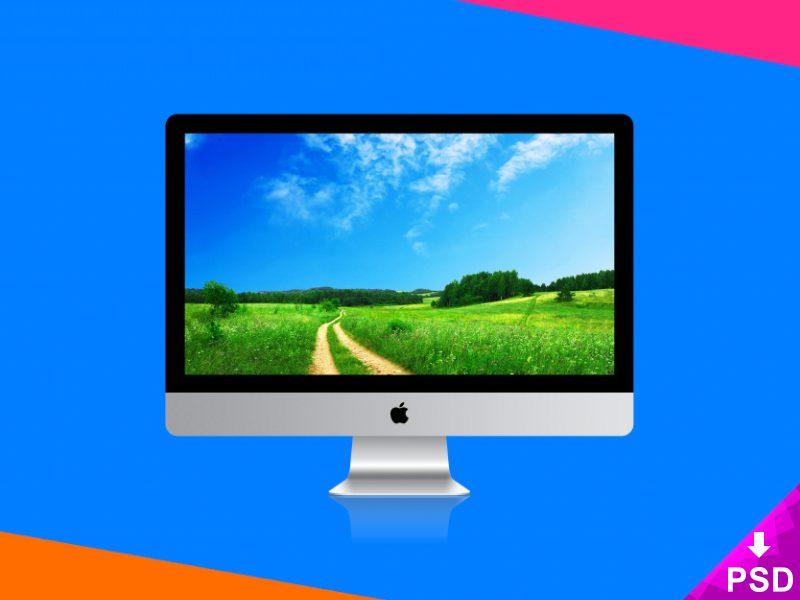 28f40420faa305946002d234f2a583e7 - Apple Imac Psd Mockup