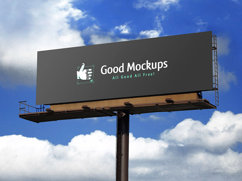29428b7d1ad74f186d64a135d0221d73 - Free Realistic Outdoor Advertising Billboard Mockup PSD