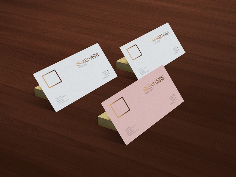 2a760289d6fb834c3ae1315674998493 - Freebie | Business Card On Wooden Floor Mockup