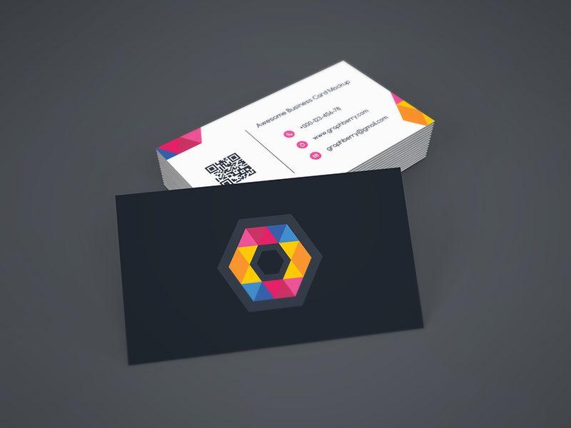 2b9c48d3d21e005760d5d41f959efd7f - Freebie - Business Card Mockup