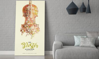 2bd7e05252248846589365901e4099c1 400x240 - Free Poster in Living Room Mockup