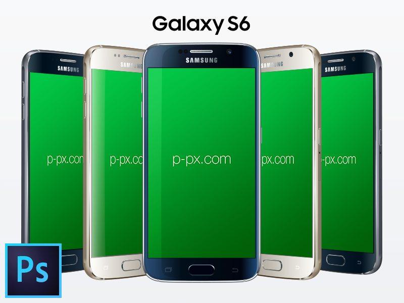 2f5c7928badec9664b079c835390865a - Galaxy S6 PSD + Ai Free Vector Mockup
