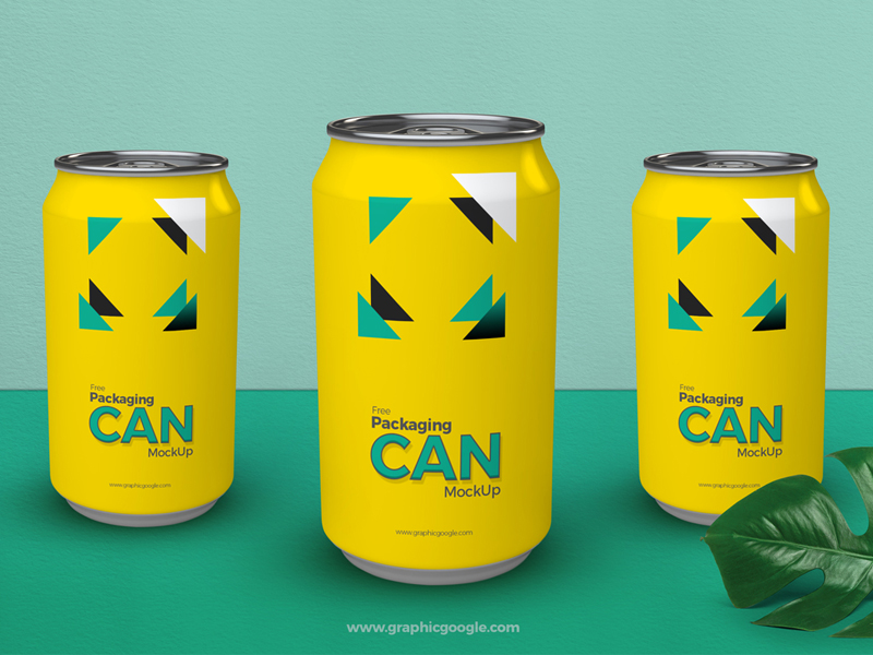 306aa43fcedb225747997e3d9b779e30 - Free Packaging Can Mockup PSD