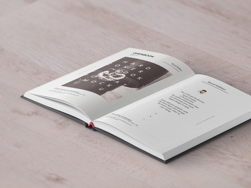 31f6ad560fefb14fa4e413214015a8ca - Free Psd Open Hardcover Book Mockup