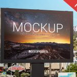 321e6025210019af0f0d958bab3a2751 150x150 - Free Realistic Outdoor Advertising Billboard Mockup PSD