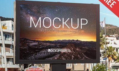 321e6025210019af0f0d958bab3a2751 400x240 - Outdoor Billboard – Free PSD Mockup