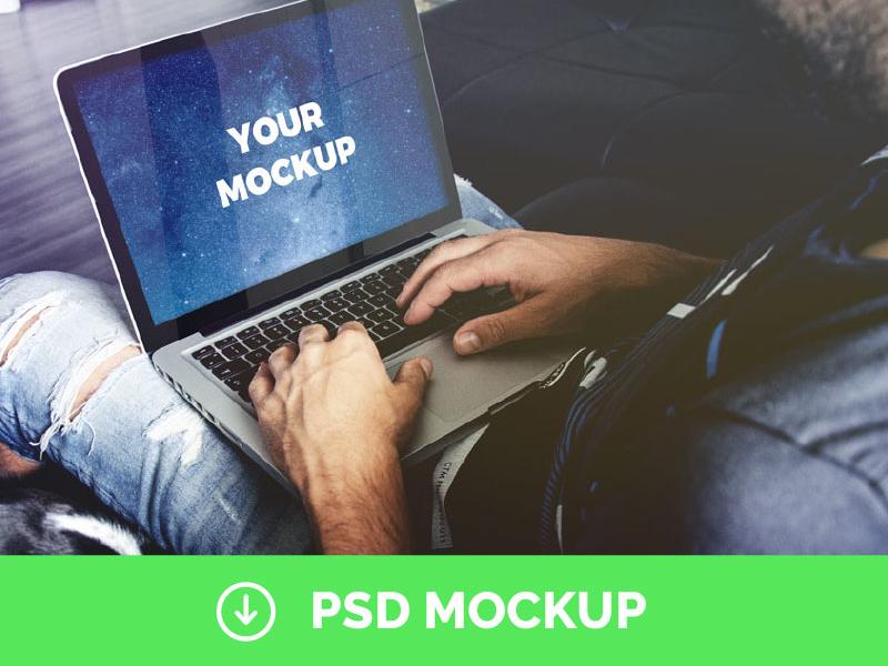 34dac5d944880176eff417fbb1ea22fe - [Free] Macbook Pro Psd Mockup Freebie