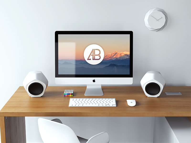 357358085d37e8e98f973eef47527754 - Realistic 5k iMac Mockup Vol.3