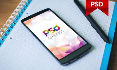 3ade693440dd19c0504a9370391f5694 400x240 - Smartphone Mockup Free PSD