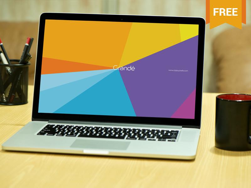 3aedc253925616489a2e47a890e1124c - Free Photorealistic Device Mockup of Macbook Pro