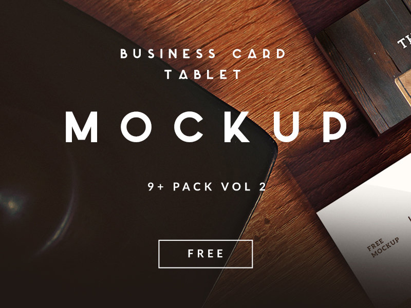 3c46c373c1d4ddce55ae9293c9876495 - 9+ Free Business Card | Tablet Mockup