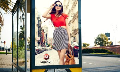 3ee4bc50922fb72393a70cad638acba7 400x240 - Outdoor Bus Stop Billboard Mockup For Advertisement