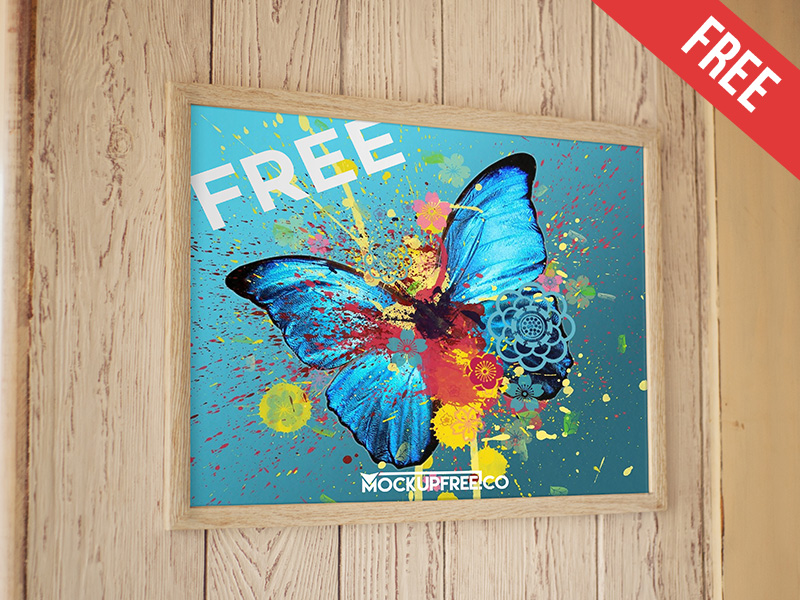 3efbcaf6b3c9b37c8fb3d720483eea74 - Poster – Free PSD Mockup